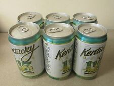 1989 - 115th Kentucky Derby Churchill Downs Louisville Kings 6 Pack Beer Cans