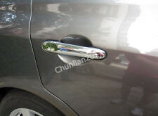 Chrome Door Handle Cover Trim for 11-14 Nissan Micra March 12 Tiida Versa Latio