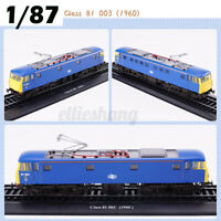 1:87 HO Scale Retro Train Model Class 81 003 (1960)Collection Decor Train
