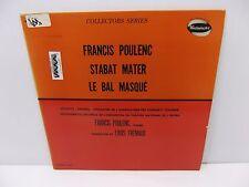Louis Fremaux Poulenc: Stabat Mater Le Bal Masque Westminster W-9618 Vinyl LP