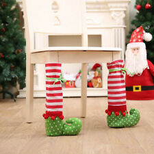 Set of 4, Home Dining Furniture Stockings Slippers Christmas Chair Leg Cover