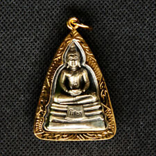 Thai amulet Buddha Phra LP Sothorn pendant Sacred Lucky Wealth Rich Success DAF