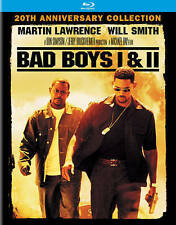 Bad Boys/ Bad Boys II 2-Pack Blu-ray Disc, 2015, 2-Disc Set, + Ultraviolet NEW