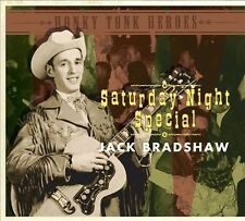 Honky Tonk Heroes: Saturday Night Special by Jack Bradshaw (CD 2012, Bear Family