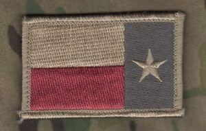 Talizombie Whacker Isaf Jsoc Alamo Garrison Crochet / Boucle Flag : Texas