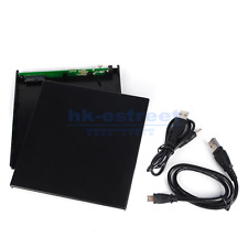 USB 2.0 External DVD Combo CD-R/RW CD-ROM DVD-ROM Burner Drive Case Enclosure