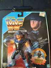 Hasbro WWF WWE MOC Official Wrestling Figure 1992 The Undertaker US Blue Mattel