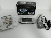 PSP 3000 Console Kingdom Hearts Birth By Sleep Limited Edition & Game Set Sony