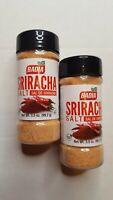 2 Pack Badia Sriracha Salt Seasoning For Cooking Pork Or Vegetables 3.5 Oz