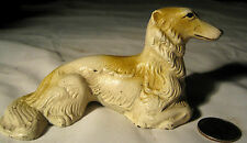 Antique Hubley Solid Cast Iron Borzoi Whipet Greyhound Dog Statue Paperweight