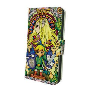 The-Legend-Of-Zelda Flip Wallet Phone Case fit for iPhone  & Samsung Cover