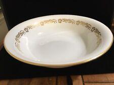 Vintage Royal Tuscan Fine English Bone China Salad Serving Bowl Golden Heritage