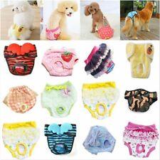 Female Pet Dog Puppy Physiological Sanitary Pants Diaper Menstrual Underwear AU
