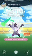Alohan Marowak Raid Shiny Chance Pokemon Go