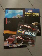 1:18 1:24 1:43 1:64 REVELL Lotto 4 Cataloghi Brochure Automodelli lim Edition 2