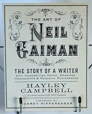 Art of Neil Gaiman The Story of a Writer Handwritten Notes, Drawings H. Campbell