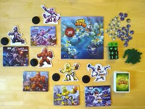 King of Tokyo Replacement Monster Scorecard Stand Dice Parts Board Game Iello