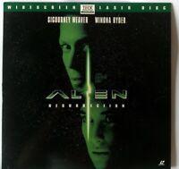 """LASERDISC """"Alien Resurrection"""" widescreen THX"""
