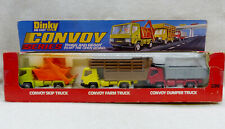 Dinky Toys 399 Coffret Convoy Series avec 3 camions TBE