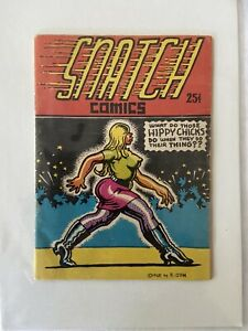 Rare Snatch Comics R. Crumb 1968 Adults Only