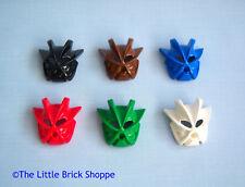 Lego Bionicle 43615 set of six KAKAMA NUVA masks rare & collectable Toa Pohatu
