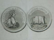 gravure XVIIIe Numismatique Monnaie Antonio Magliabechi (1633-1714)