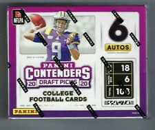 2020 Panini Contenders Draft Picks Football Factory Sealed Hobby Box