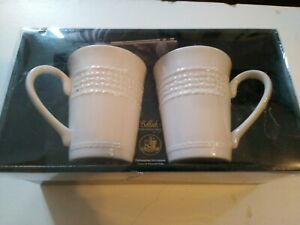 Pair of Belleek 10oz Mugs
