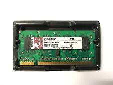 Kingston KVR667D2S5-512 memory SODIMM 512MB PC2-5300 (DDR2)