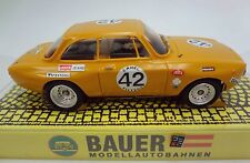 BAUER ALFA ROMEO GT Am #42 24 HRS SPA 1971 HO SLOT CAR AW T-JET 500 CHASSIS
