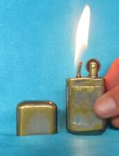 Collectable Antique WWI Period Plain Brass Trench Lighter.