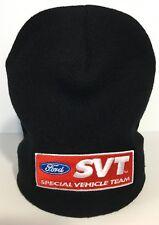 NEW LICENSED FORD SVT BEANIE SKULL HAT CAP! LIGHTNING COBRA RAPTOR GT GT40 FOCUS