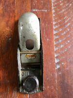 Vintage Stanley Bailey Wood Plane Carpenter's Woodworking Tool