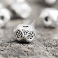200pcs Charm Metal Beads Tibetan Silver Loose Spacer DIY Jewellery 3x4x4mm