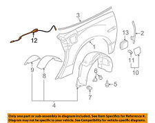 Chevrolet GM OEM 05-13 Corvette Fuel Door-Lock Actuator 25744292