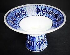 Ararbia Finland Vtg 60s Candle Holder Pedestal Finnish Scandinavian Porcelain