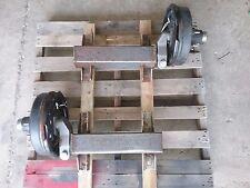 Pair Frameco Flexiride 5200lb half axles w/ Electric Brake FR5200B13HLB3