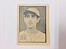 1946 DEPORTIVO CARAMELO POR FELICES CUBAN BASEBALL CARD OF JORGE COMELLAS #86