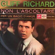 "CLIFF RICHARD -Non L'Acoltare SING IN ITALIAN 7"" 1965 The Shadows"