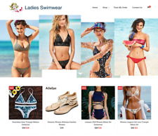 Ladies Swimwear Turnkey Website BUSINESS For Sale - Profitable DropShipping