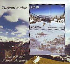 Kosovo Stamp 2016. Mountain Tourism - Bjeshkët e nemuna. Souvenir sheet MNH.