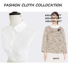 Gift Fake False Collar Detachable Collar Black White Blouse One Size