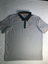 Adidas Climacool Polo Golf Shirt Lake Jovita Extra Large Xl Gray