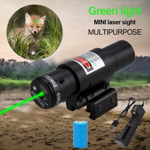 Grün Rot Dot Laser Sight Mit 11/20mm Picatinny Schienenmontage Neu