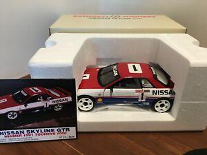 1:18 Biante  Nissan GTR R32 #1 Jim Richards / Mark Skaife 1991 Bathurst Winner.