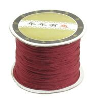 120 Meters Nylon Handcraft Braid Rattail Cord Chinese Knotting Thread Rope Da mk