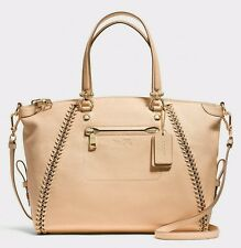 Coach Handbag 34339 Prairie Whiplash Leather Satchel, Shoulder Bag, Tote $595