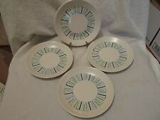 Four Vintage Knowles China Modern Classic Four Seasons Bread and Butter Plates