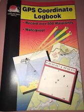 FHS Fishing & Boating Waterproof Log Book Organize GPS Coordinates & Waypoints