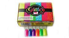 Fantasy Nails Sinaloa - Glitter it  Neon Collection - 6pcs  To Apply W Acrylic
